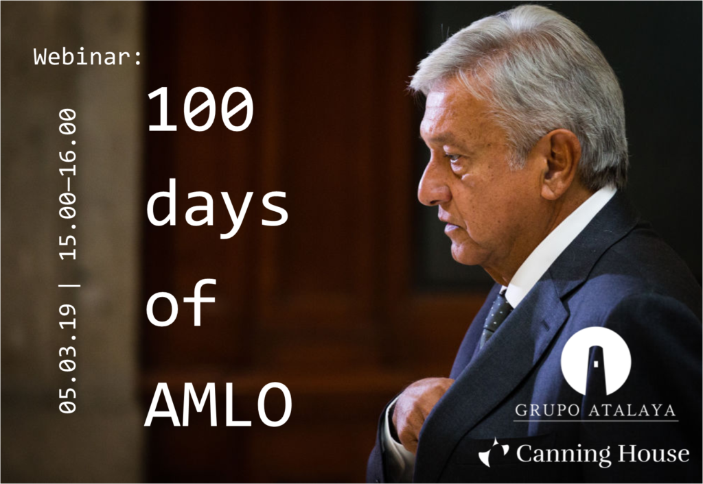 Webinar: 100 days of AMLO