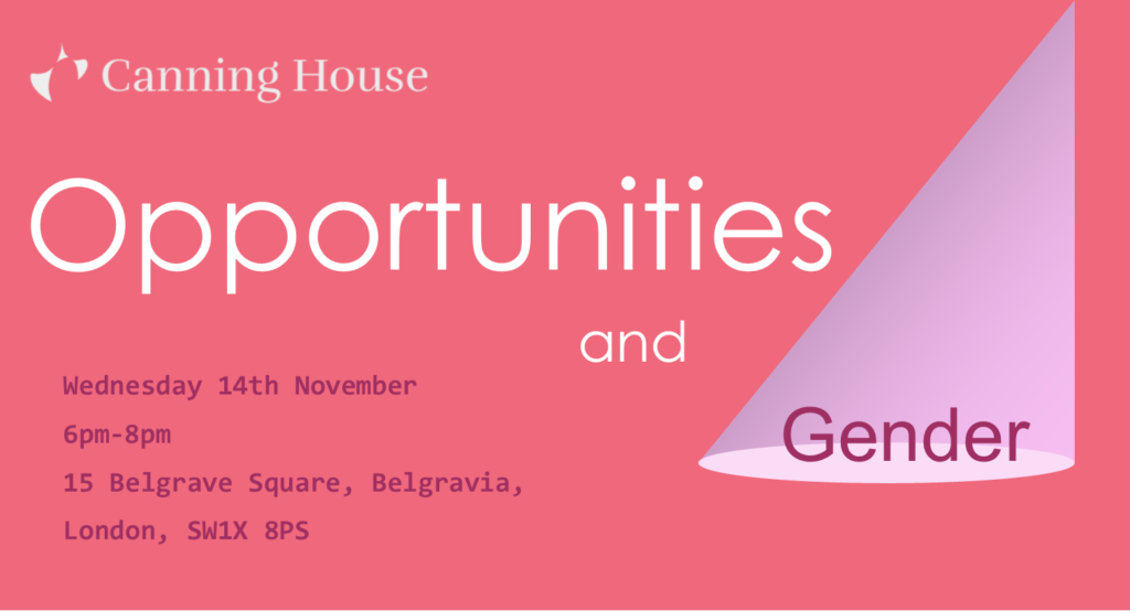 Opportunities and Gender