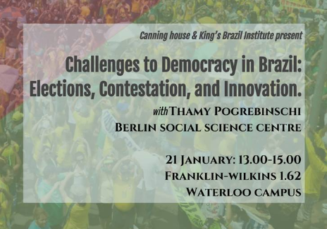 Challenges to Democracy in Brazil: Elections, Contestation and Innovation